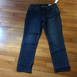 Petite Talbots jeans with slimming panel